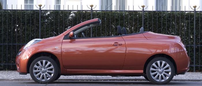 Peugeot 207 cc 1 6 thp vs nissan micra c c 1 6 automaniac for Nissan micra cc