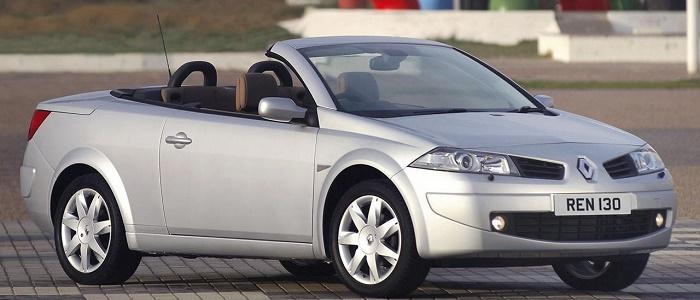 renault megane coupe-cabriolet 1.5 dci 105 vs peugeot 307 cc 2.0