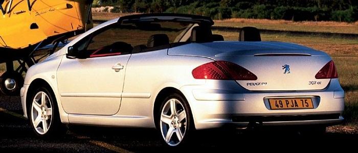 peugeot 307 cc 1.6 16v vs renault megane coupe-cabriolet 1.6 16v