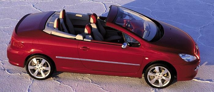 peugeot 307 cc 2.0-16v vs renault megane coupe-cabriolet 2.0 16v