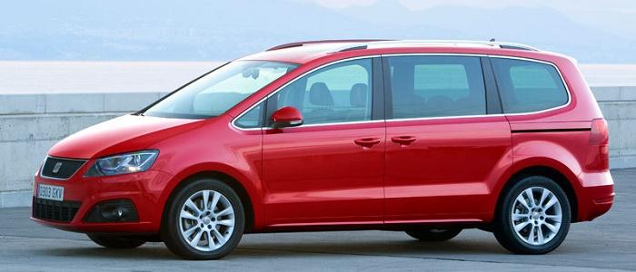 Seat Alhambra 20 Tdi 4wd Vs Volkswagen Sharan 20 Tdi 4motion