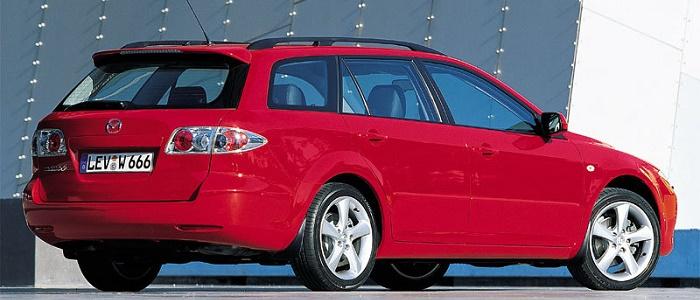 Mazda 6 SportBreak 2.3 S-VT AWD (2002 - 2005) - AutoManiac