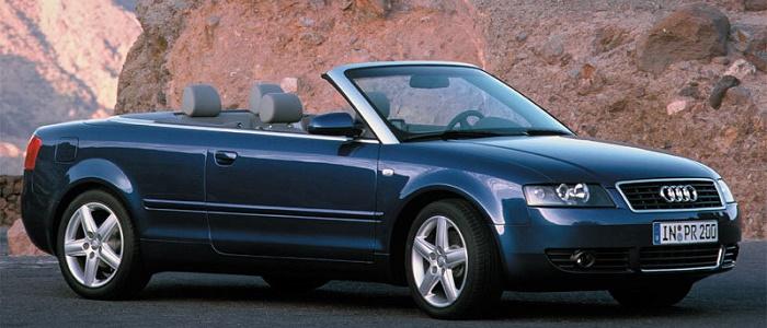 Audi A4 Cabriolet 1 8 5v Turbo